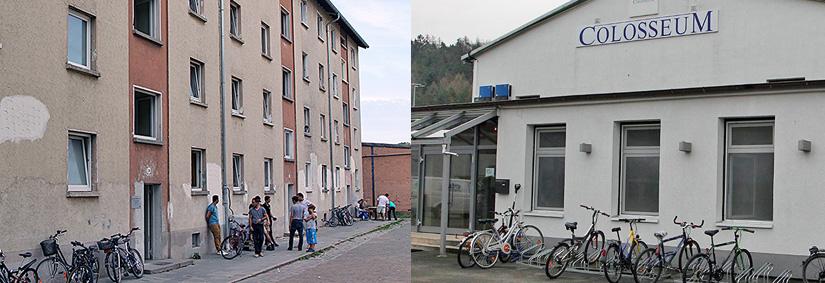 Flüchtlingsunterkünfte in Kaiserslautern, die durch das ASZ betreut werden