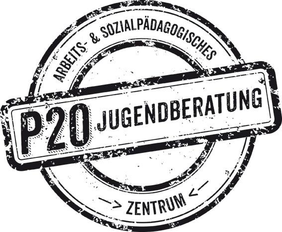 Logo der P20 Jugendberatung des ASZ in Kaiserslautern